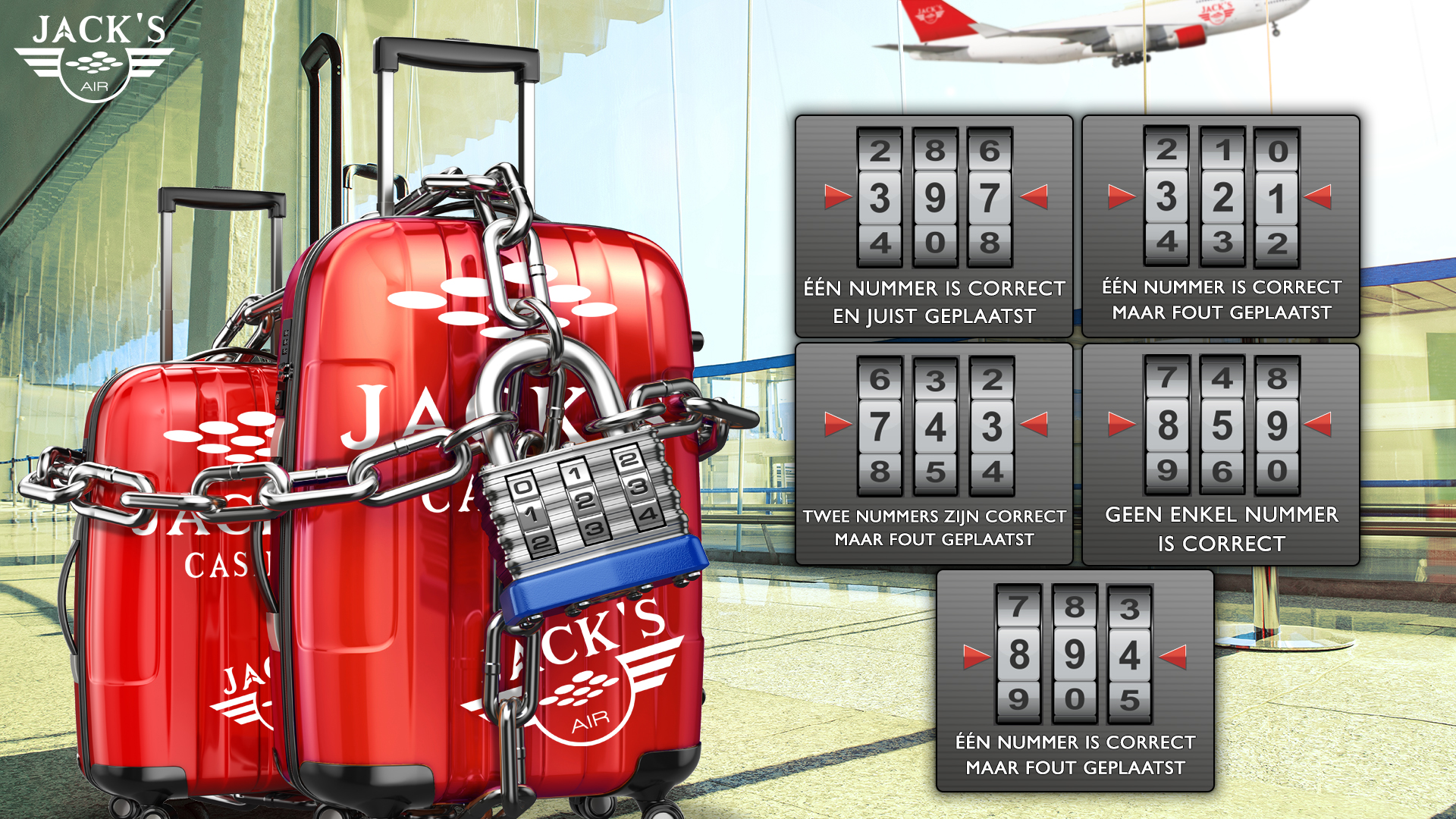 Kraak de Koffer van Jack's Casino - Game